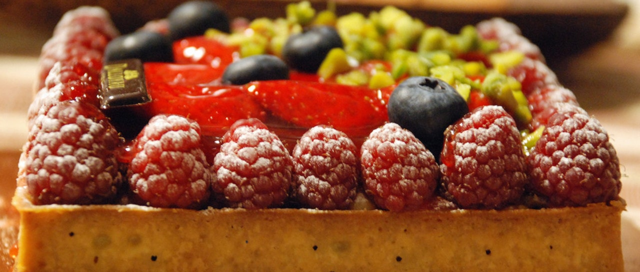 Desserts - Tarte aux fruits